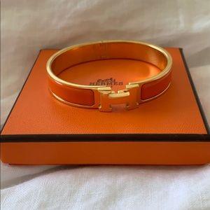 Hermès click clack bracelet
